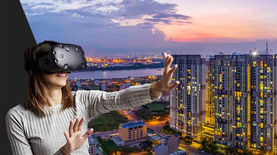 Tương tác giữa công nghệ VR 360 và người sử dụng có thể được thông qua màn hình